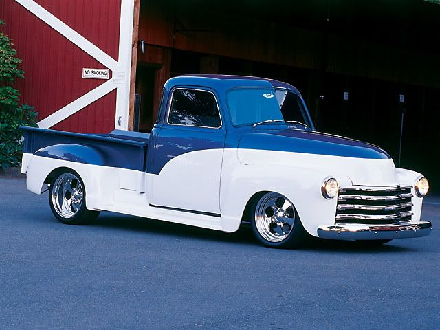 Two Tone Paint On A A D The 1947 Present Chevrolet Gmc Truck Message Board Network Chevrolet Trucks Chevy Trucks Gmc Trucks