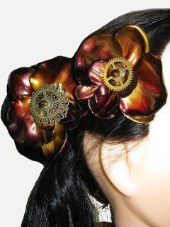 Kupfer Orchideen (5).JPG (240×320)http://www.steampunk-accessoires.com/