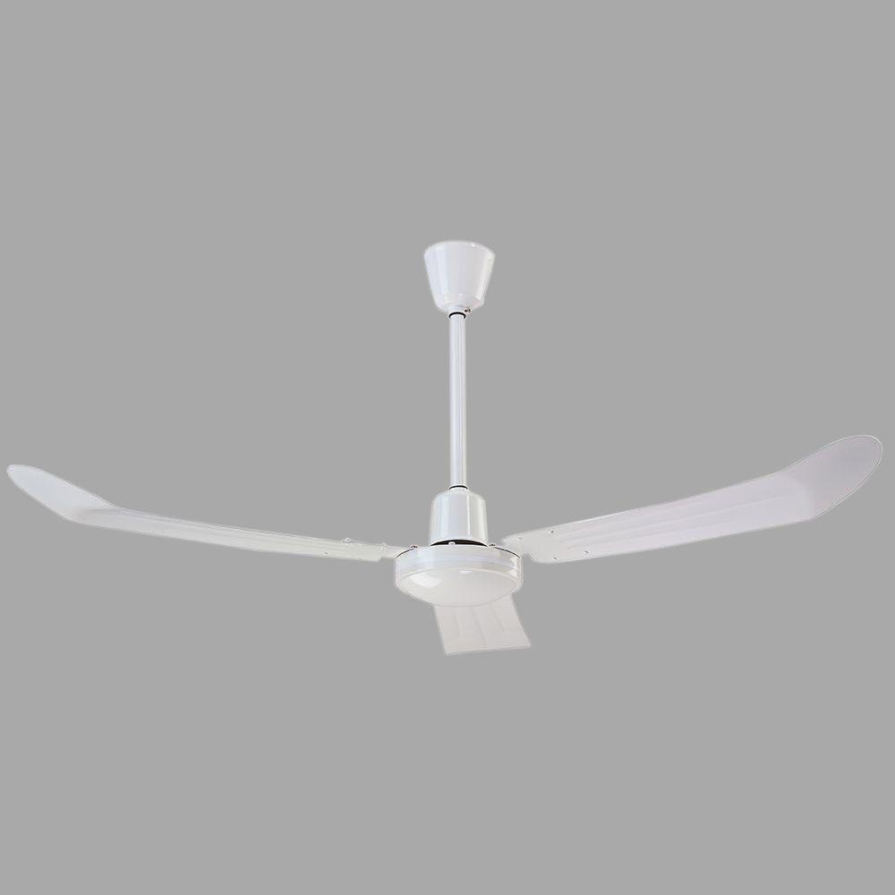 outdoor ceiling fans white. Loose Wire White Ceiling Fan With 36 In. Downrod Outdoor Fans