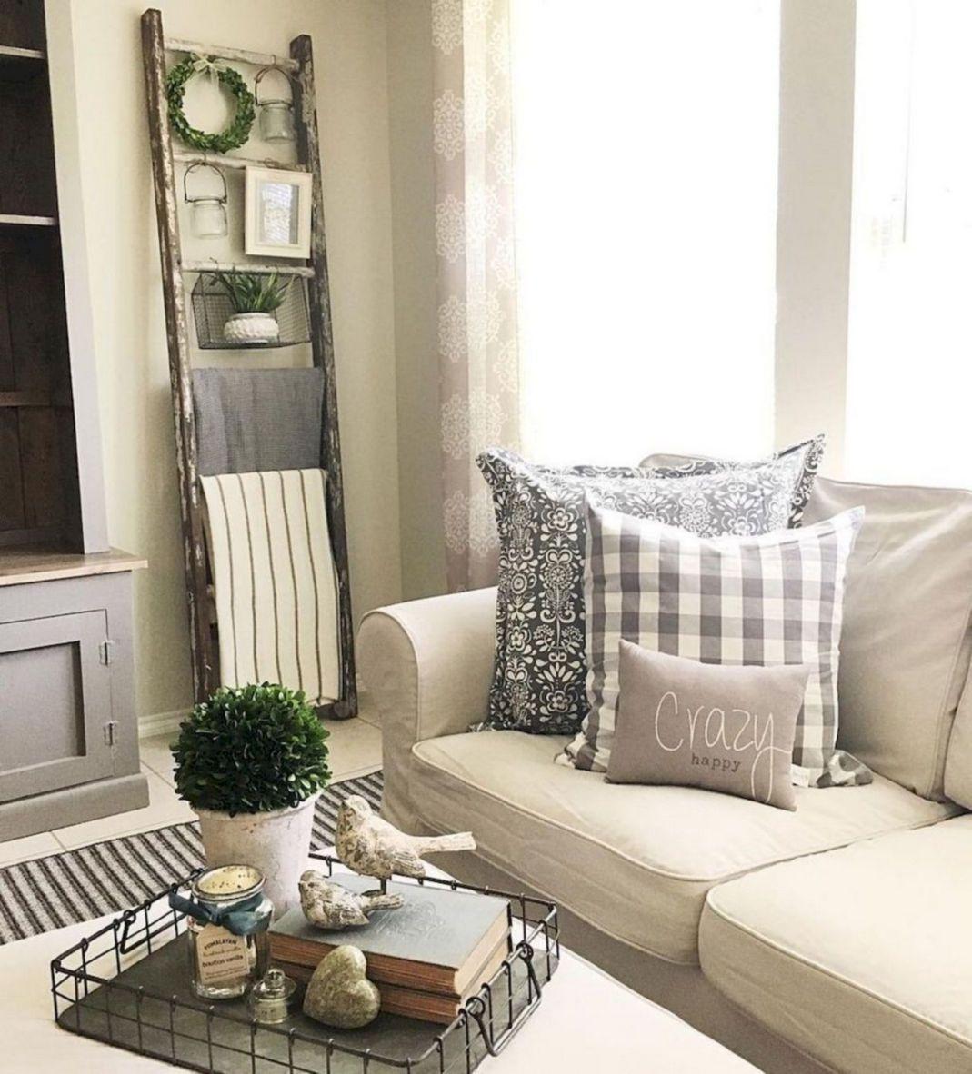 33+ Amazing Farmhouse Living Room Design Ideas   Home Design Ideas