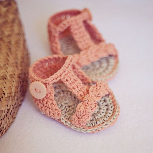 zapatitos croc a crochet patron gratis | Cosas que me han gustado ...