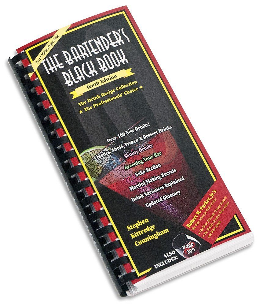 The Bartender's Black Book >>> Find out more details by clicking the image : Dining Entertaining