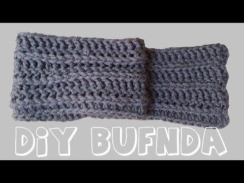 Bufanda Infinita para Niños a Crochet \