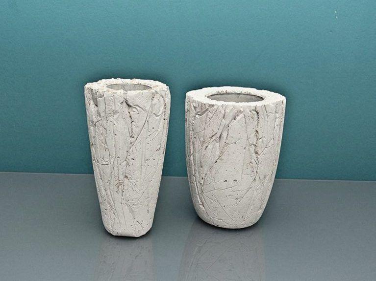 Lampada In Cemento Fai Da Te : Tutorial fai da te creare vasi in cemento via dawanda
