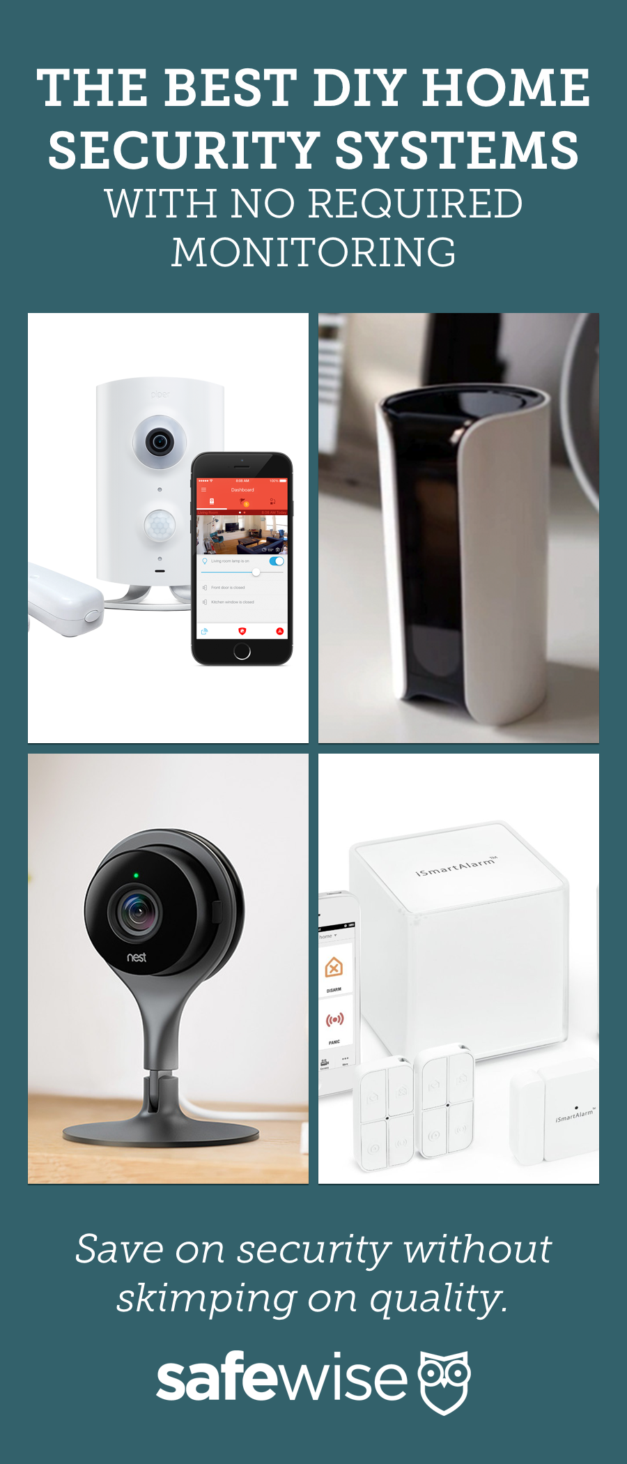 Best Diy Home Security Systems Of 2021 Safewise Diy Home Security Home Security Tips Wireless Home Security Systems