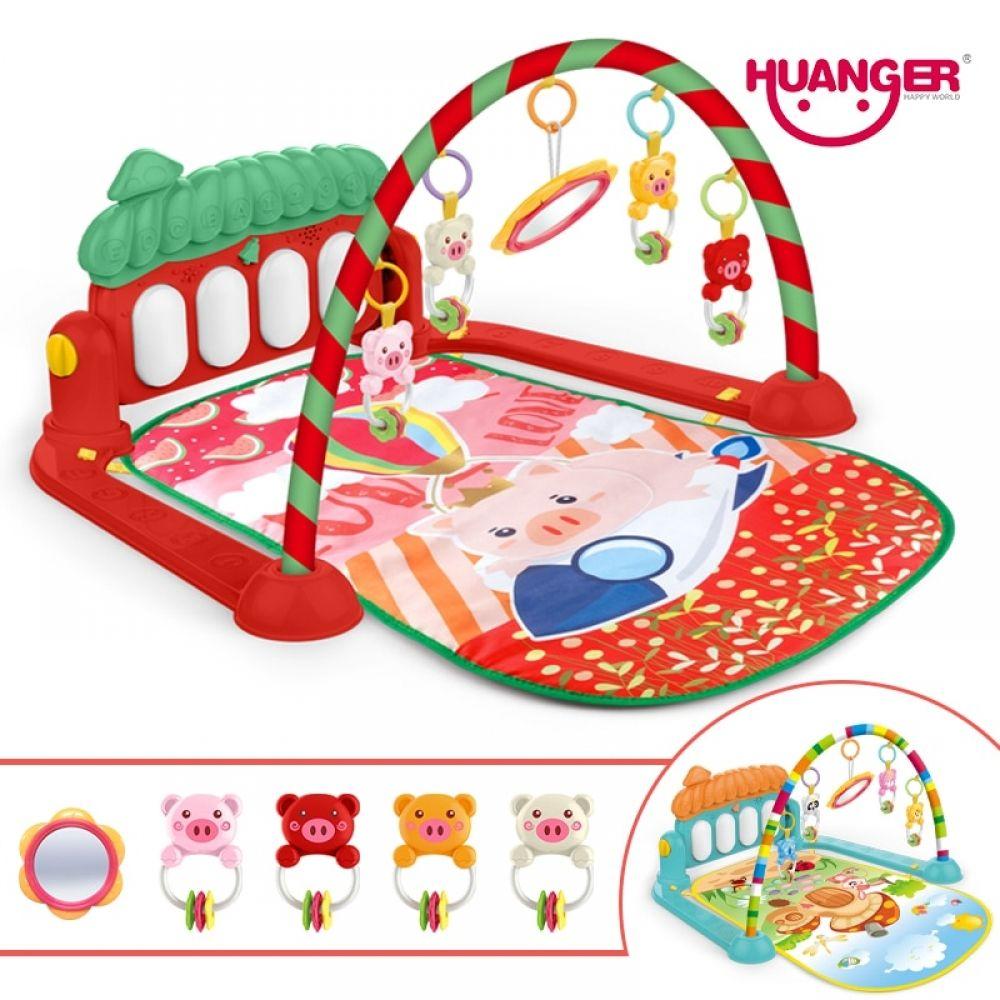 Newborn Infant Baby Children Activity Gym Playmat Soft Floor Rug Kids Play Mat !