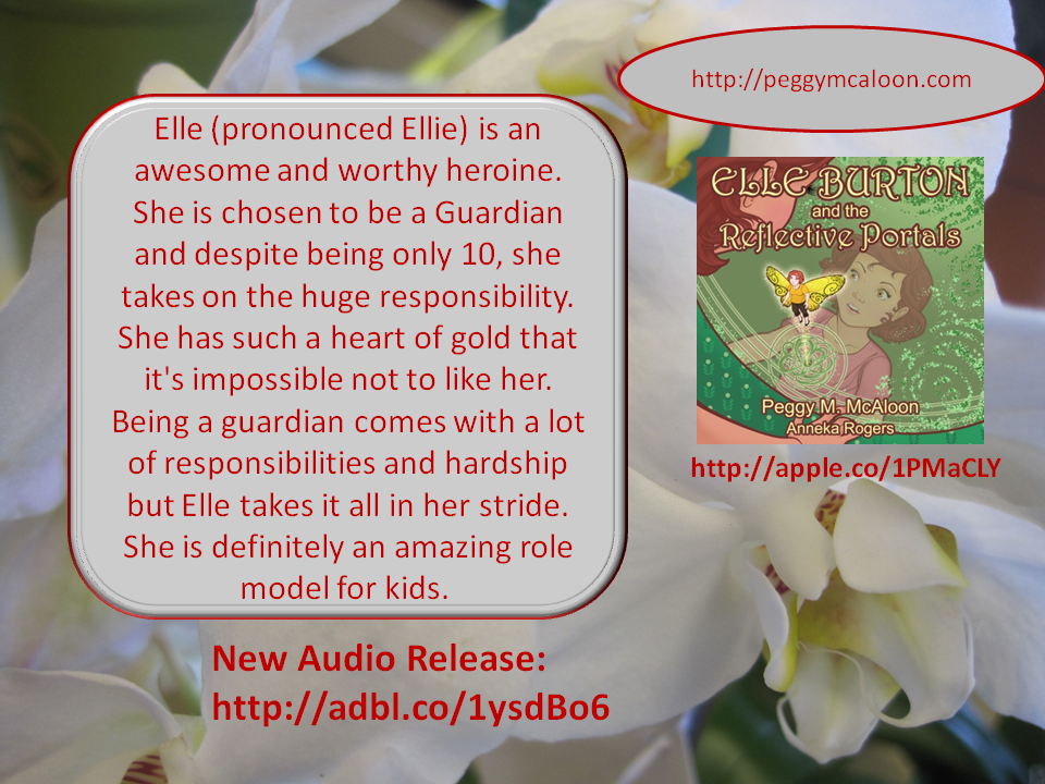 The highly rated Elle book is now an audio book on Audible and iTunes #kidlit #Fantsy #CR4U #IndieBooksBeSeen