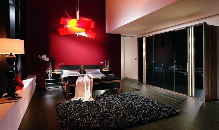 Couleur pour chambre chaleureuse aux tons foncés ! Room ideas and Room