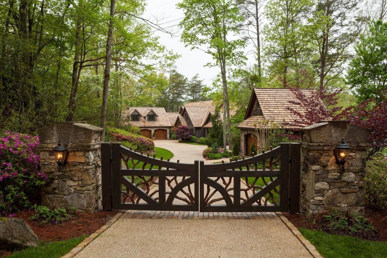 Tour A Rustic Lake House In Tiger Ga Hgtv Com S