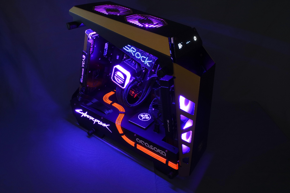Case Mod Complete ⭐ CyberPunk 2077 CPBR12 (With