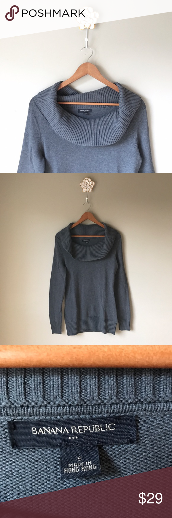 Banana Republic cowl neck sweater | Small banana, Cowl neck and ...