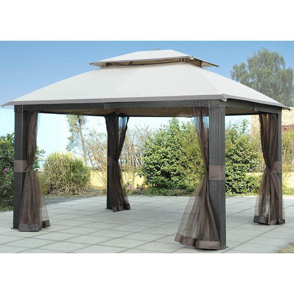 Amazon Com Sunjoy Replacement Canopy Set For Revella Gazebo Garden Outdoor Gazebo Outdoor Shade Gazebo Pergola