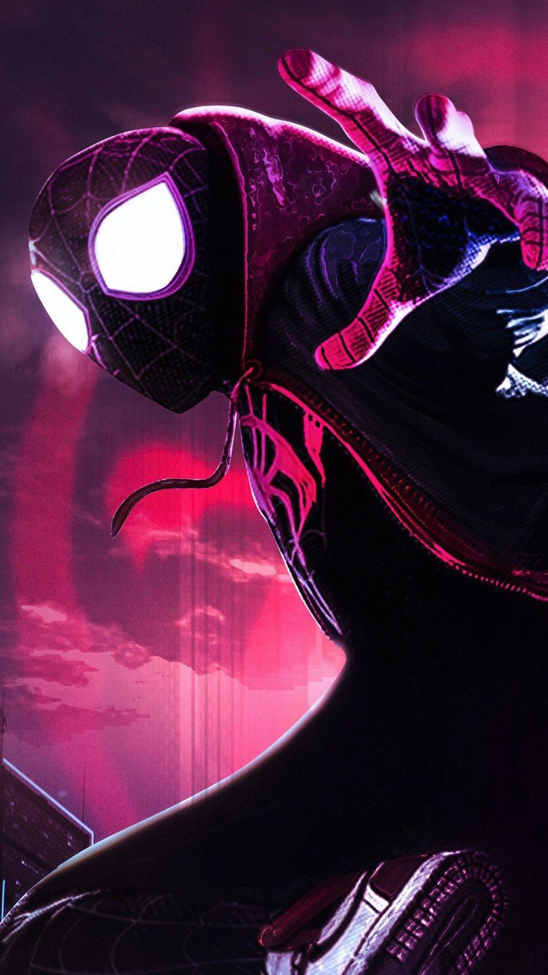 Movie / SpiderMan Into The SpiderVerse (1080x1920