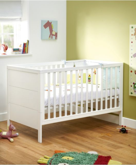 Yale Cot Toddler Bed Mamas Papas Nursery Furniture