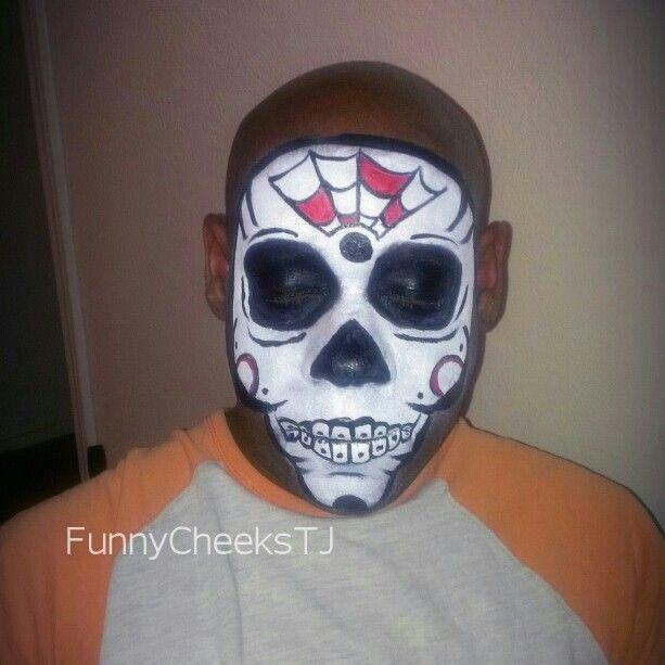 Dia de los muertos - Day of the Dead - Sugar Skull by FunnyCheeksTJ
