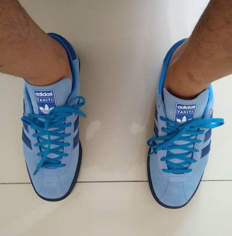 new product a37ca 89cc9 Tahiti on feet on the street Adidas Og, Football Casuals, Tahiti, Adidas  Originals