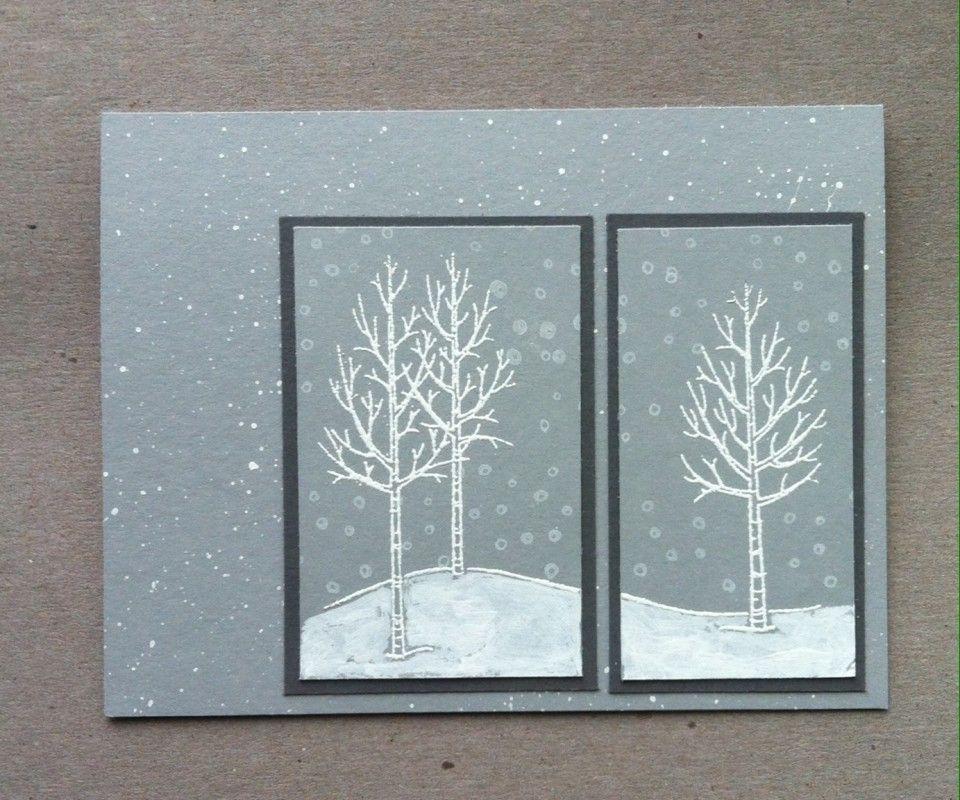 MIX153 Snowy Gray Day   Weiße Weihnacht SU   Pinterest
