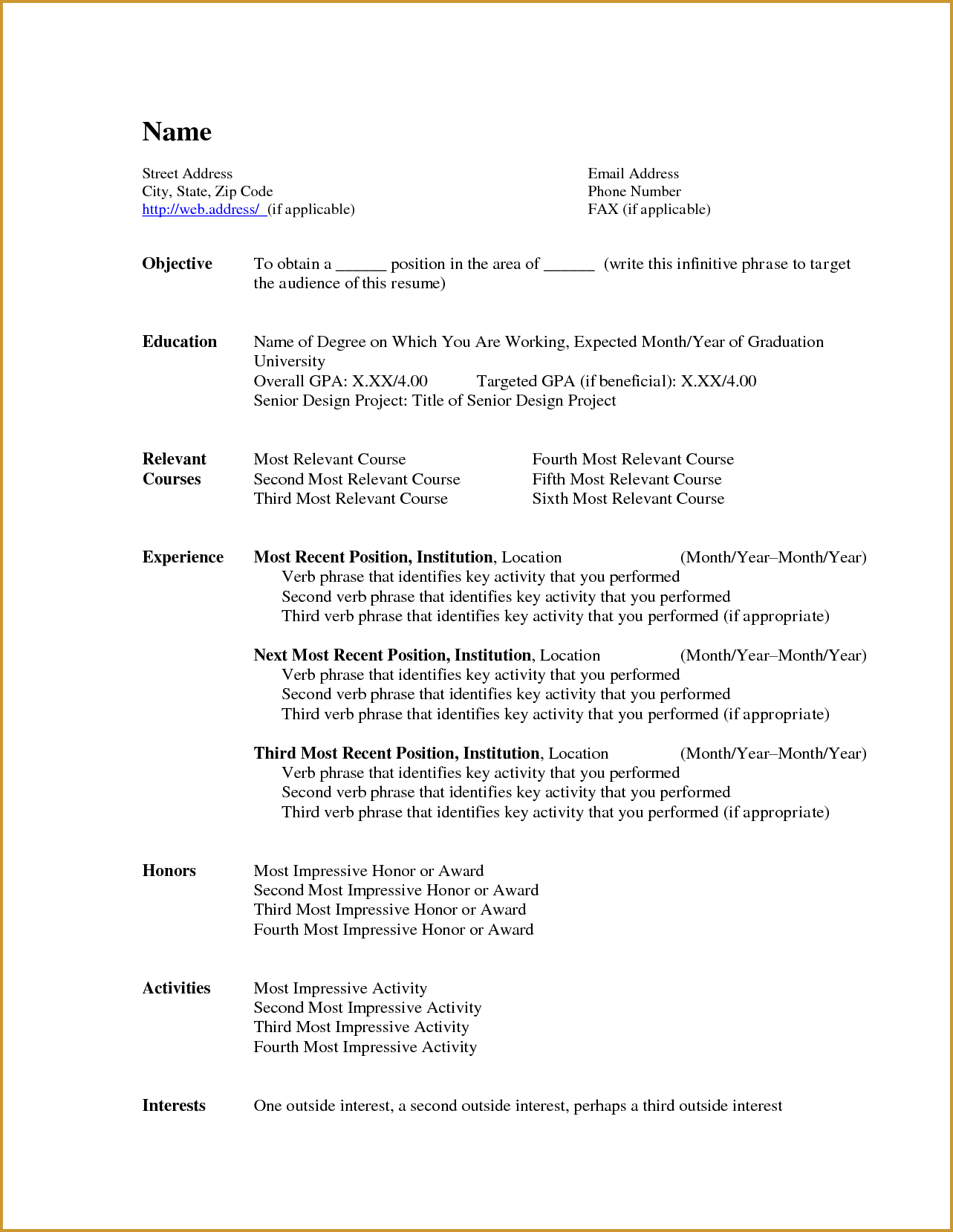 where to find resume templates on microsoft word 2007
