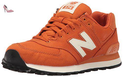 new balance 574 femme orange