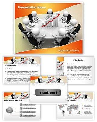 Sales team meeting editable powerpoint template powerful sales team meeting editable powerpoint template toneelgroepblik Image collections