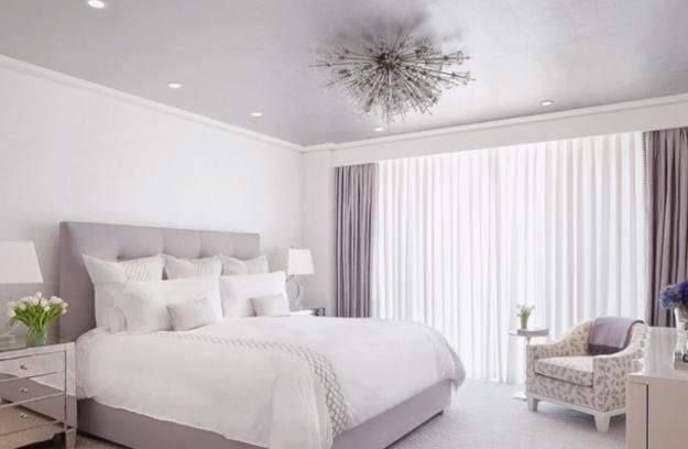 4 Modern Ideas To Add Interest To White Bedroom Decorating Purple Bedroom Design Contemporary Bedroom White Bedroom Furniture