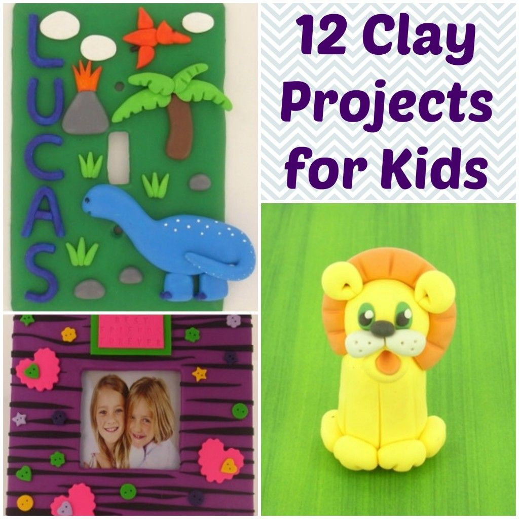 Cute Craft Ideas For Kids Part - 47: 12 Cute Clay Projects For Kids