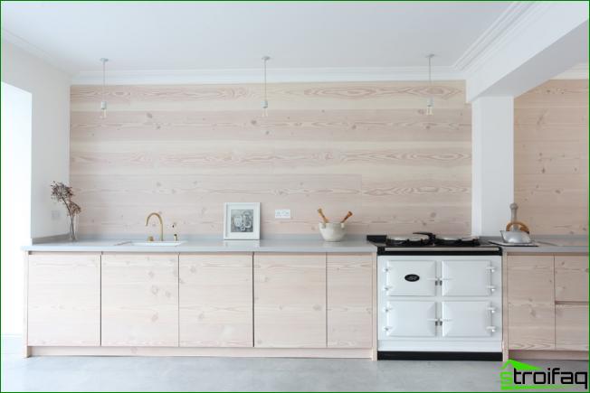 Küche ohne Oberschränke: 75+ erstaunliche funktionelle Ideen ...