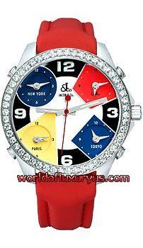 aa0a3400e7cb6b Jacob  amp  Co   Five Time Zone - 40mm 2.00 carat Bezel JCM4 - See