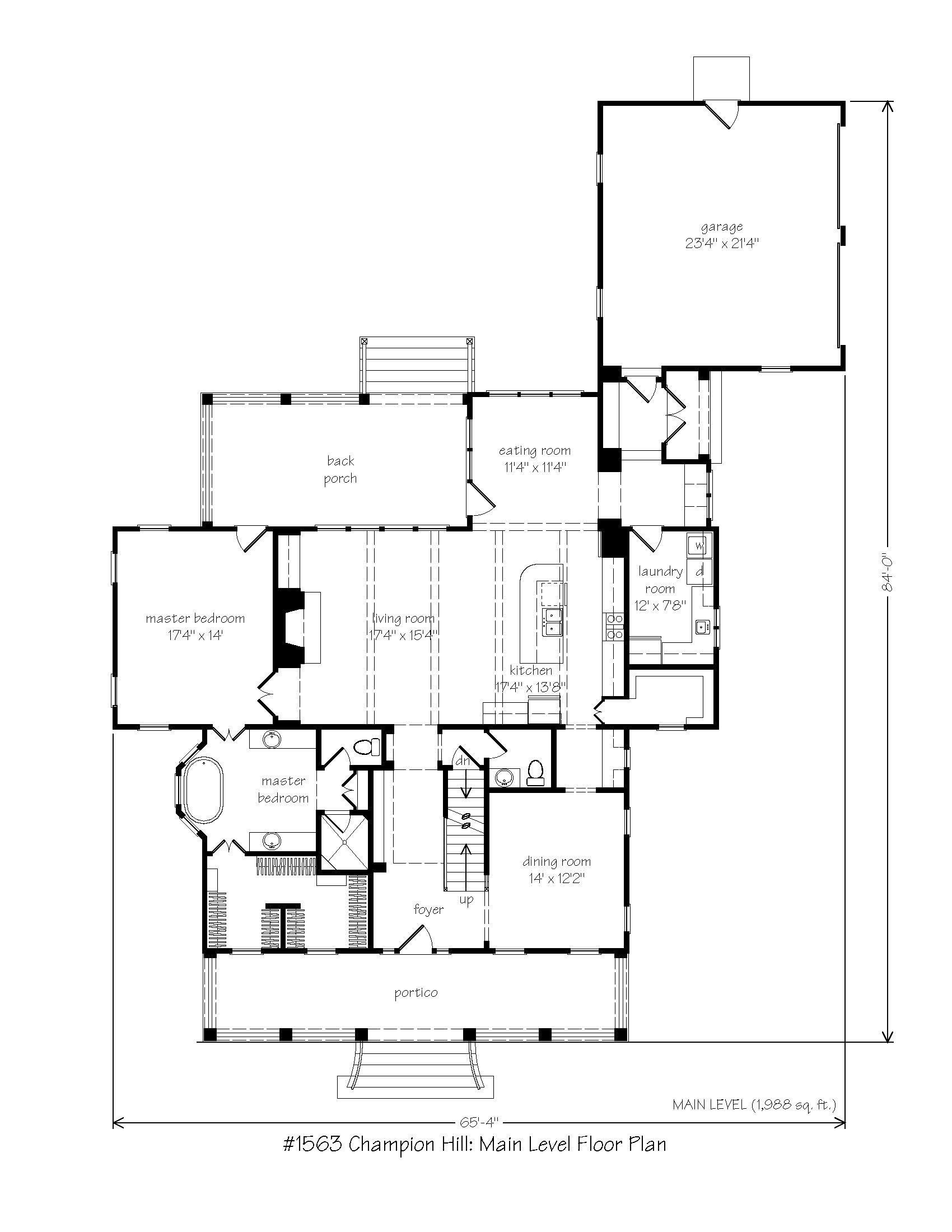 Champion Hill L Mitchell Ginn Associates Traditional Farmhouse Plans Farmhouse Plans How To Plan