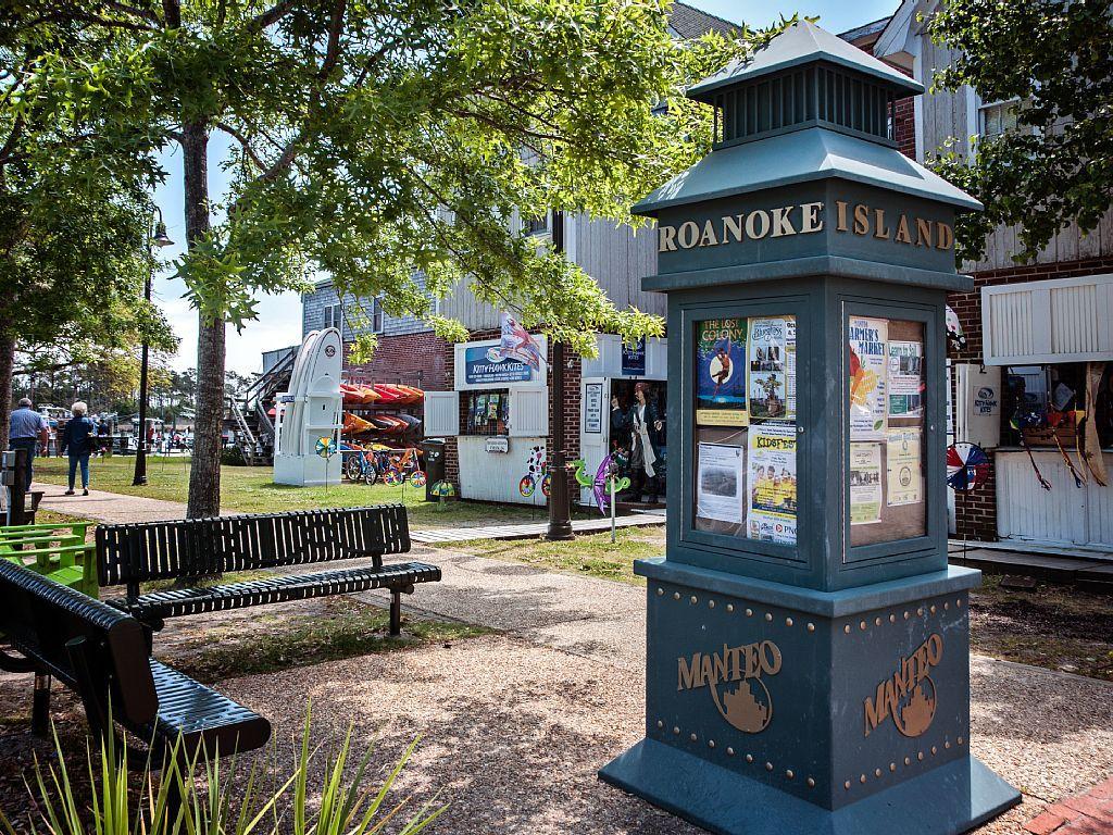 Waterfront Historic District Roanoke Island Roanoke