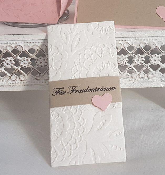10 X Taschentuchhalter Inkl Gemustertes Taschentuch Fur Freudentranen In M Hochzeit Accessoires Taschentucher Hochzeit Gastgeschenke Hochzeit Selber Machen