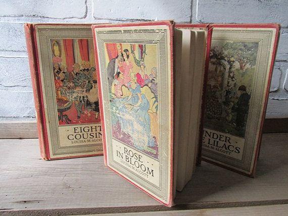 Little Women Books Louise May Alcott Rose by AnUnexpectedJourney