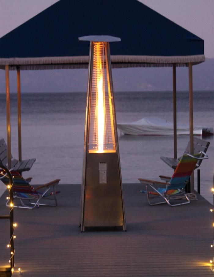 Attirant Fire Tube Patio Heater   It Does Not Make A Difference What Season It  Happens To Be With The Help Of Innovative Patio Styl