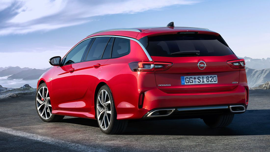 Opel Insignia Gsi 2020 Top Modell Mit Weniger Leistung Ab 49 725 Euro In 2020 Buick Auto Motor Sport Tourer