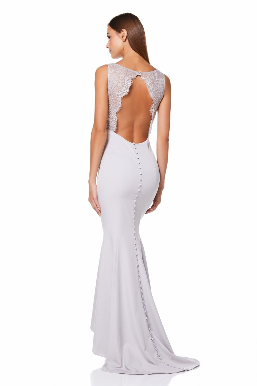 b9733456facb ... BACK BUTTONS. by JARLO LONDON. #ootd #lookoftheday #bridesmaids  #weddings #bridesmaiddresses #weddinginspirations #weddingdress  #occasionwear