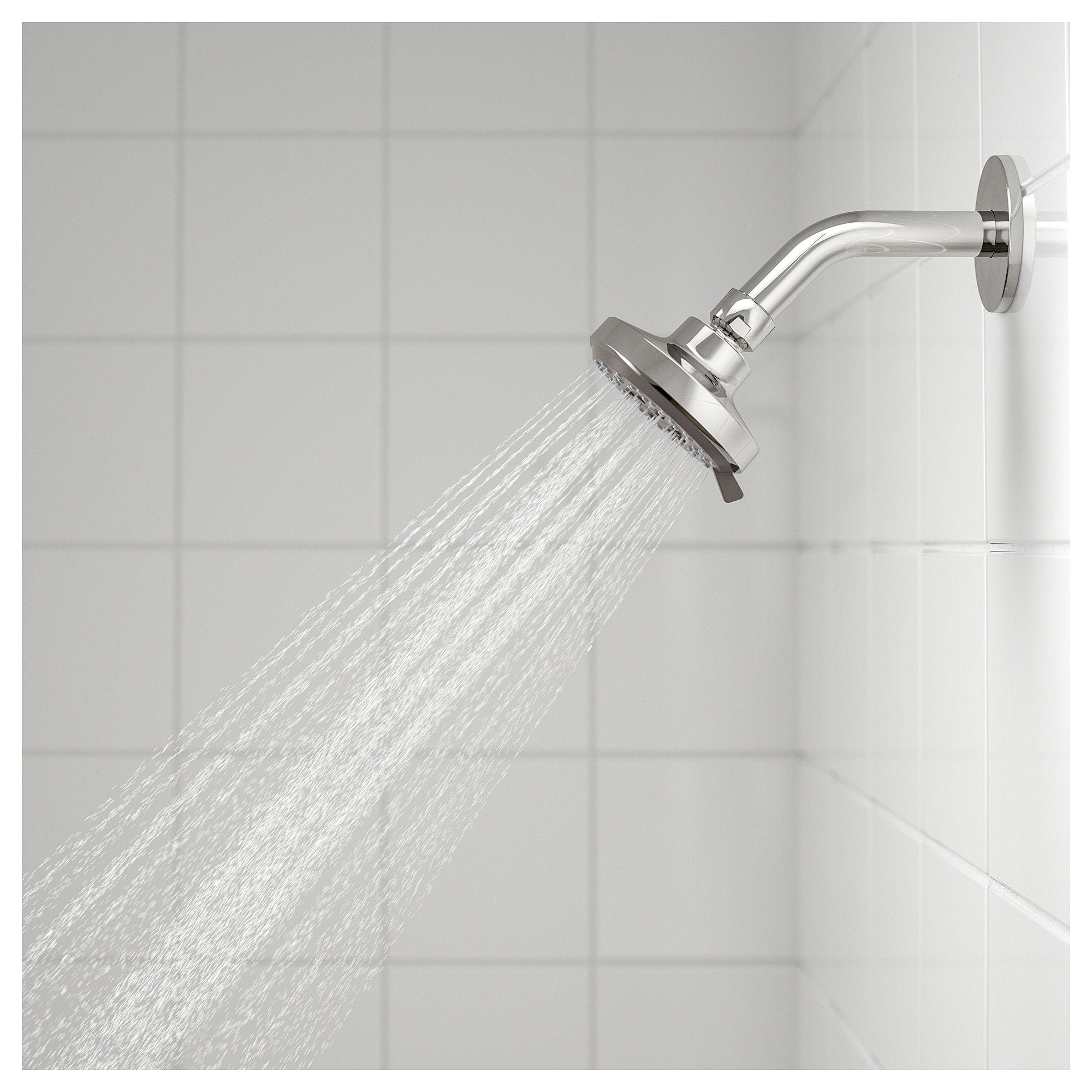 Ikea Brogrund Bath Shower Set Thermostatic Faucet Chrome Plated