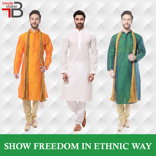 f6e54cdd44a8 Mens Ethnic Wear · Connection · Stay in touch with the Indian connection  this Independence Day by availing the best of men's