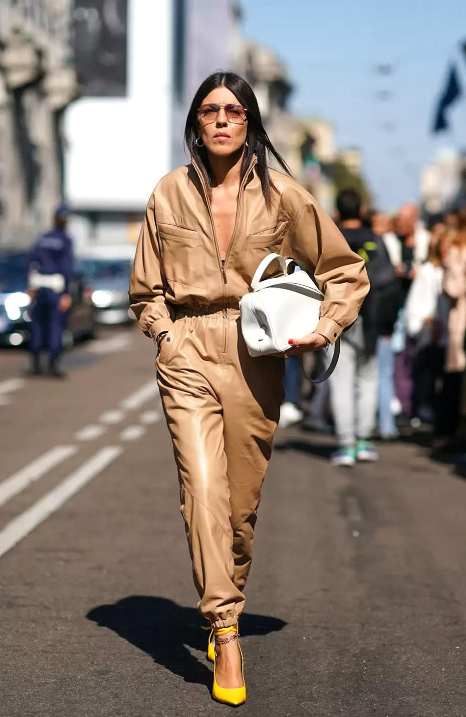Milan Fashion Week Street Style A Lesson In Tailoring  Glamour UK