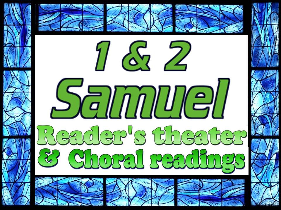 1 Samuel reader's theater freebie! Every chapter is