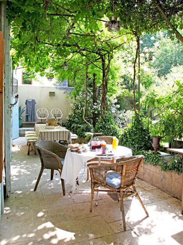 Terrasse  80 idées déco pour lu0027embellir Small gardens, Outdoor