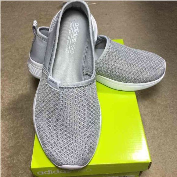 20506892fb3 NWT Grey Adidas Neo Lite Comfortable Slip On Shies Women's shoes by ...