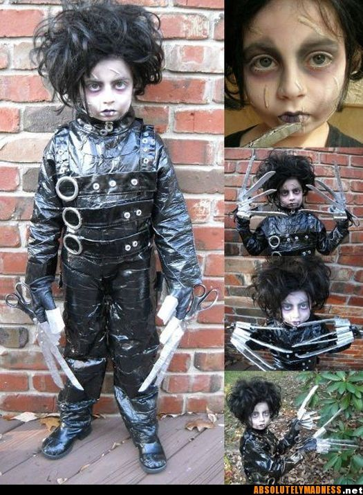 Edward Scissorhands the most awesome kidu0027s costume ...  sc 1 st  Pinterest & Edward Scissorhands the most awesome kidu0027s costume Iu0027ve seen ...
