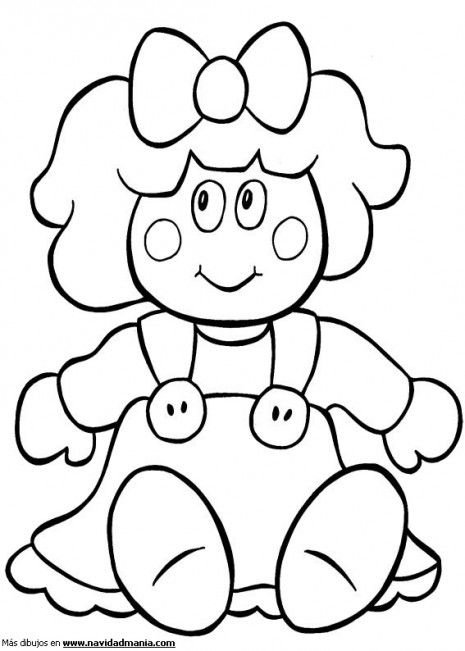 muneca-2.gif3 | Coloring pages | Pinterest