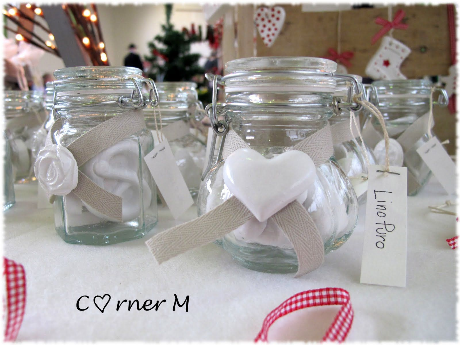 Célèbre Decorazioni Country Chic: Corner m: vasetti con gessi profumati  AP15