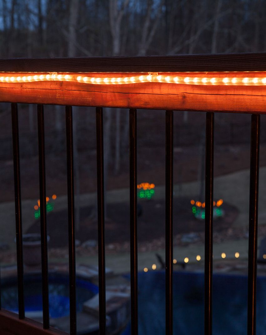 Outdoor Deck Lighting With Rope Light