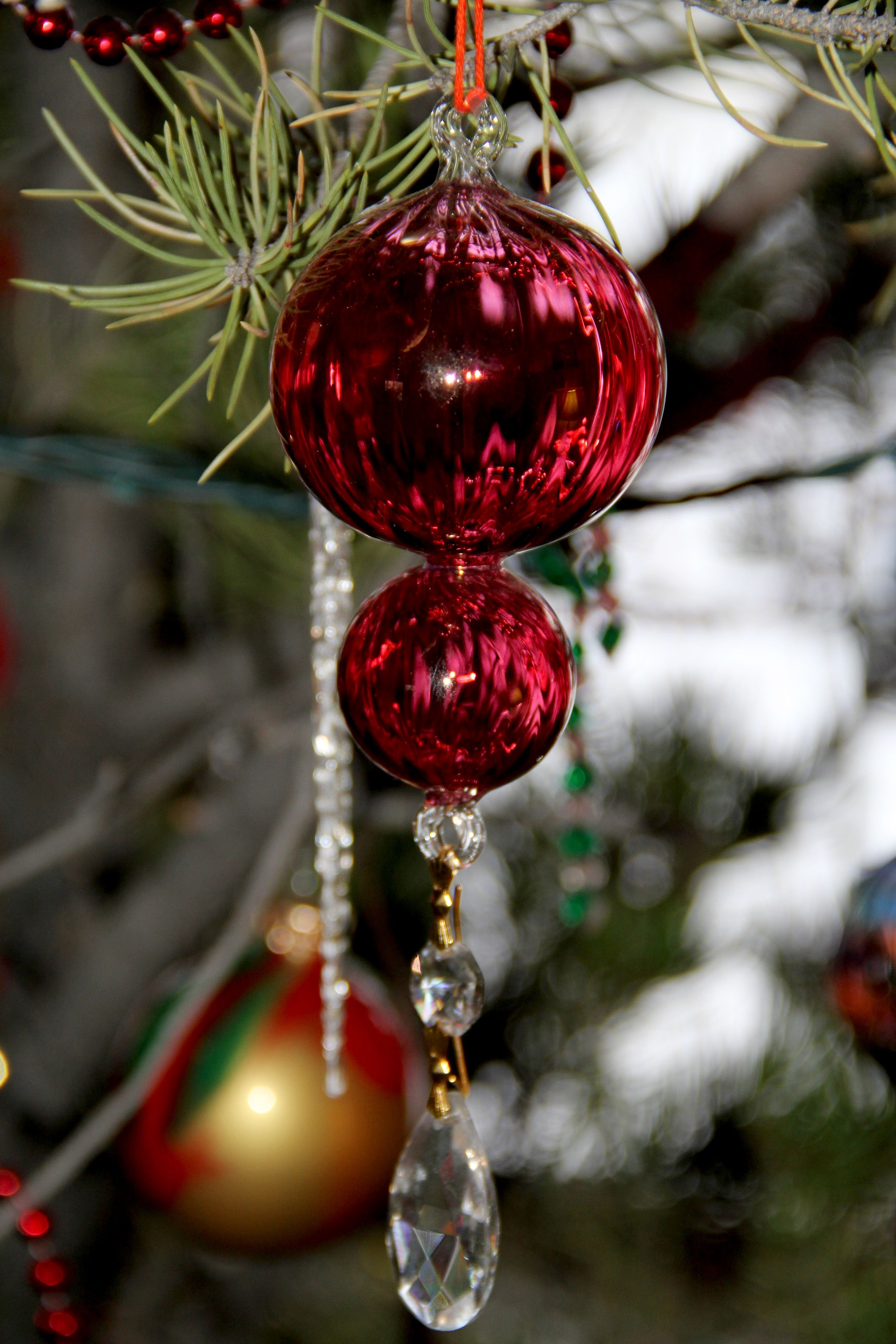 Egyptian glass ornament | Pretty christmas ornaments ...