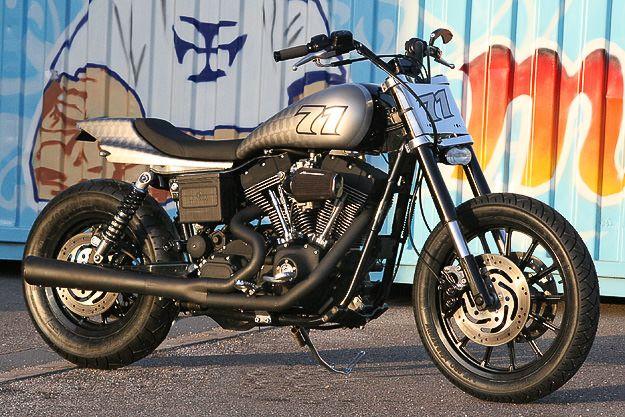 Harley Davidson Dyna Street Tracker Super Glide Custom