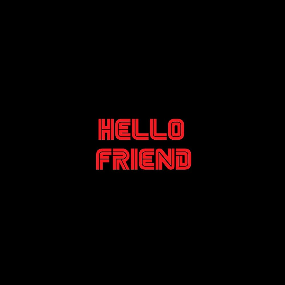 Mr. Robot - Hello friend by SpaceNigiri