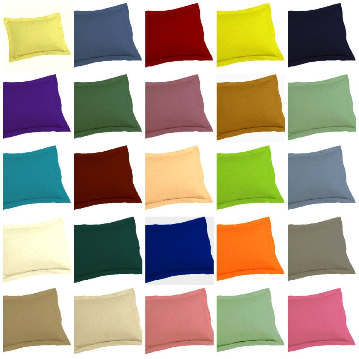 euro pillow shams