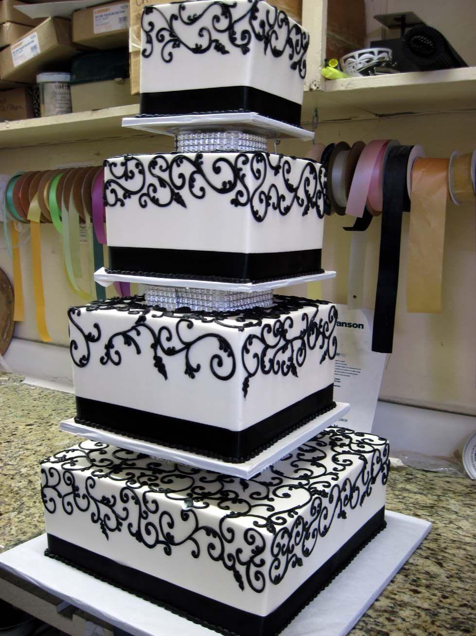 Swirls wedding cakes pinterest
